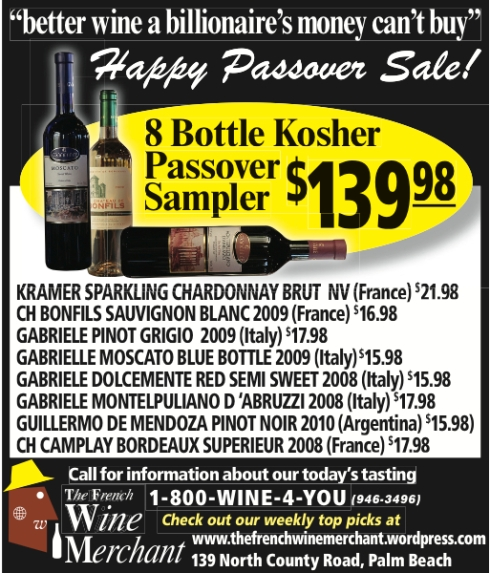 Passover Sale Ad